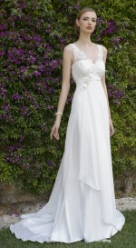 WEDDING DRESS STYLE EMPIRE