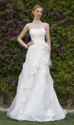 DRESS BRIDE LINE LARGE PARTIALLY