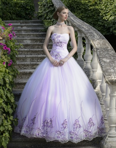 DRESS BRIDE LINE LARGE ROMANTIC