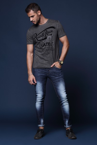 JEANS man urban fashion style