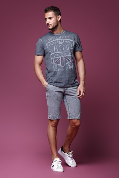 BERMUDA JEANS man urban fashion style